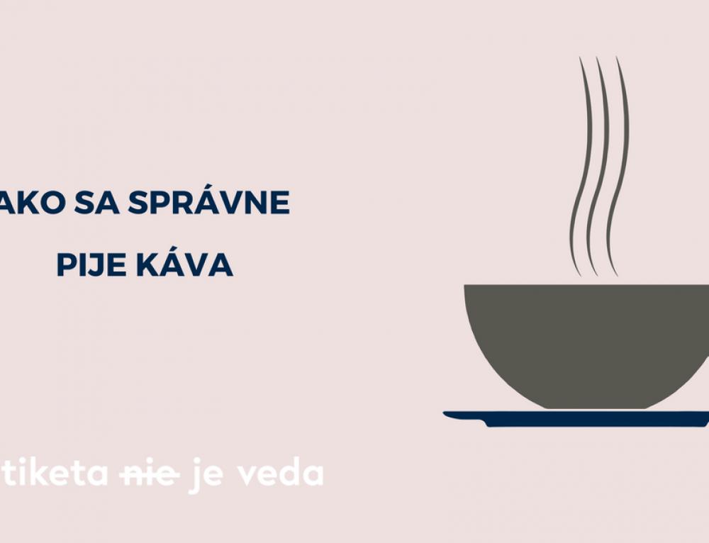 Ako sa správne pije káva